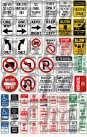 Traffic and Parking Control Signs I